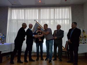 Rozdanie nagród podczas Okręgowej Wystawy Gołębi Pocztowych- Brodnica 2017